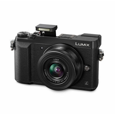 Panasonic DMC-GX80 systeemcamera Zwart + 12-32mm