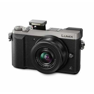 Panasonic DMC-GX80 systeemcamera Zilver + 12-32mm