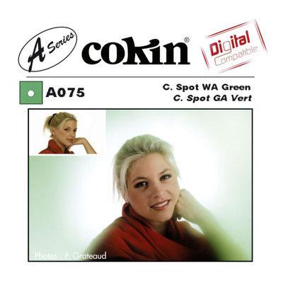 Cokin Filter A075 Center Spot WA Green