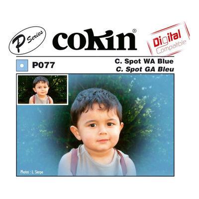 Cokin Filter P077 Center Spot WA Blue