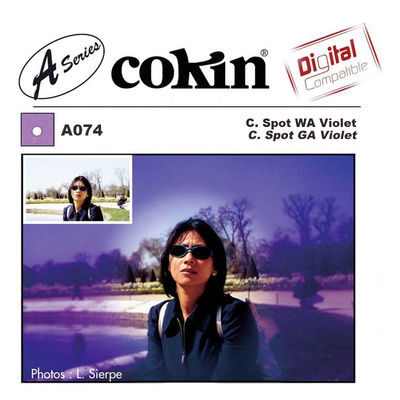 Cokin Filter A074 Center Spot WA Violet