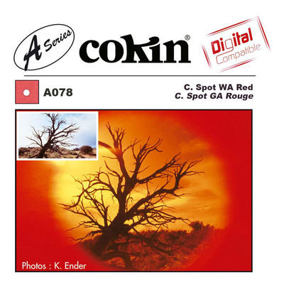 Cokin Filter A078 Center Spot WA Red
