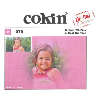 Cokin Filter A079 Center Spot WA Pink
