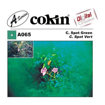 Cokin Filter A065 Center Spot Green