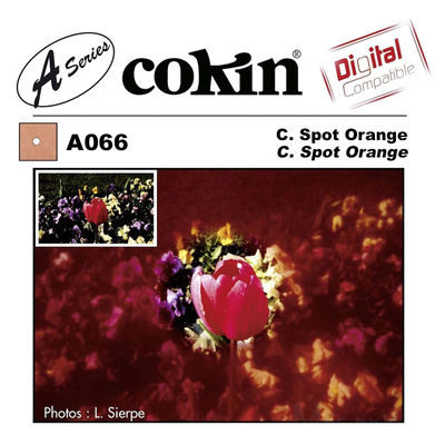 Cokin Filter A066 Center Spot Orange