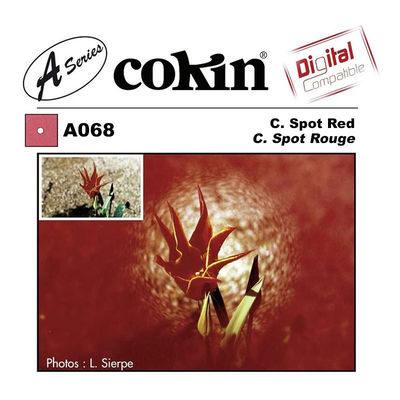 Cokin Filter A068 Center Spot Red