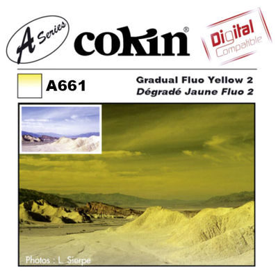 Cokin Filter A661 Gradual Fluo Yellow 2