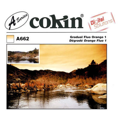 Cokin Filter A662 Gradual Fluo Orange 1
