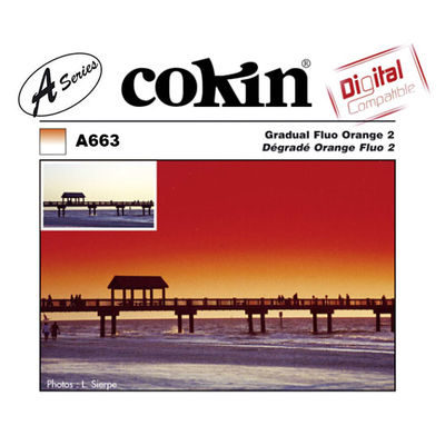 Cokin Filter A663 Gradual Fluo Orange 2