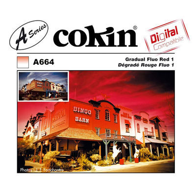 Cokin Filter A664 Gradual Fluo Red 1