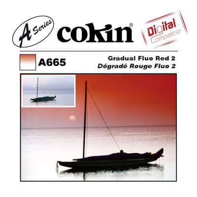 Cokin Filter A665 Gradual Fluo Red 2
