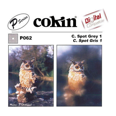 Cokin Filter P062 Center Spot Grey 1