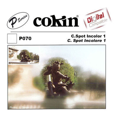 Cokin Filter P070 Center Spot WA Incolor 1