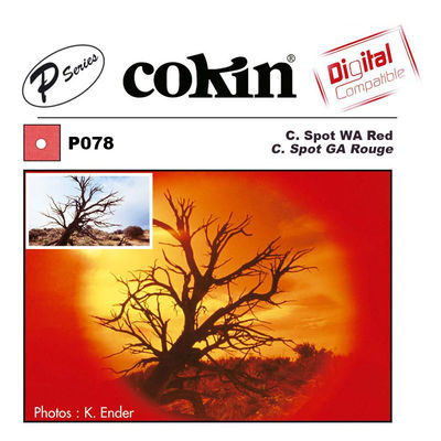 Cokin Filter P078 Center Spot WA Red