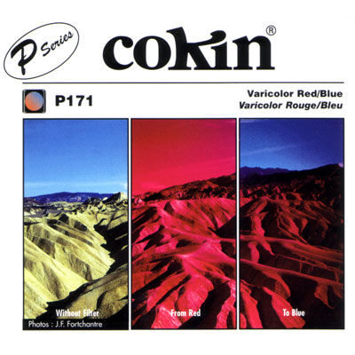 Cokin Filter P171 Varicolor Red/Blue