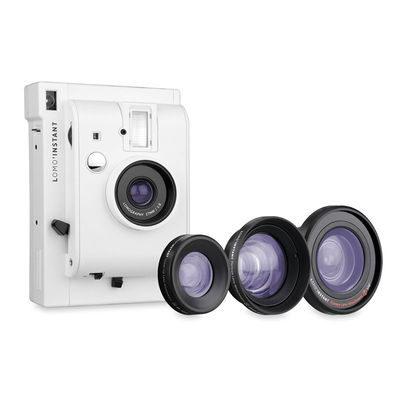 Lomography Lomo'Instant Mini camera Wit + 3 Lenzen
