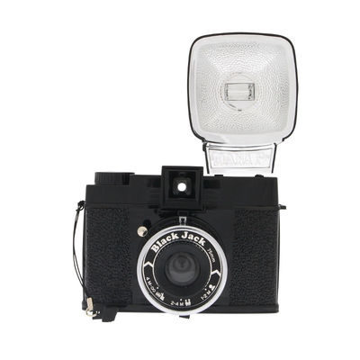 Lomography Diana F+ Black Jack middenformaat camera