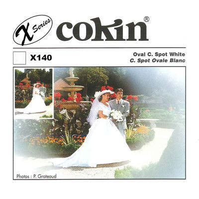 Cokin Filter X140 Oval Center Spot White
