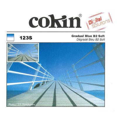 Cokin Filter Z123S Gradual Blue B2 Soft