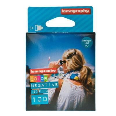 Lomography Color Negative 100 ISO 120mm fotorolletje - 3 stuks