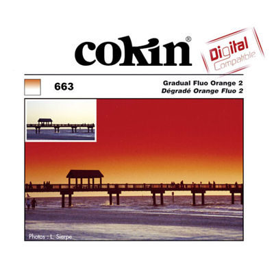 Cokin Filter Z663 Gradual Fluo Orange 2