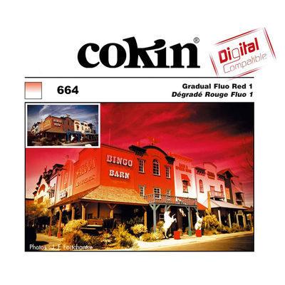 Cokin Filter Z664 Gradual Fluo Red 1