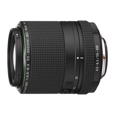 Pentax HD DA 55-300mm f/4.5-6.3 ED PLM WR RE objectief
