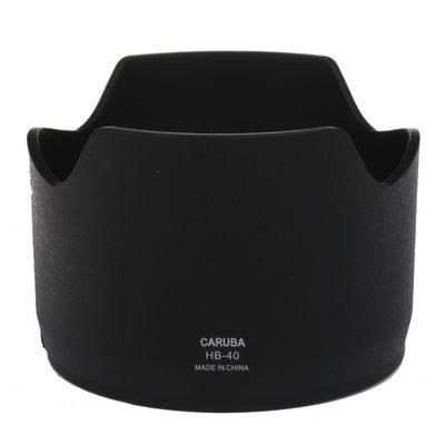 Caruba HB-40 zonnekap Zwart