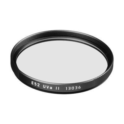 Leica UVA II Filter E52 Zwart