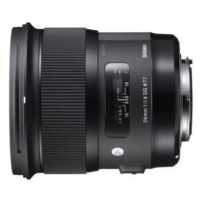 Sigma 24mm f/1.4 DG HSM Art Canon objectief - Occasion