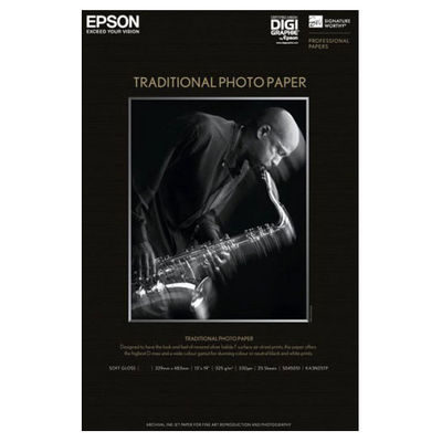 Epson Traditional Photo Papier A3+ 25 sheets