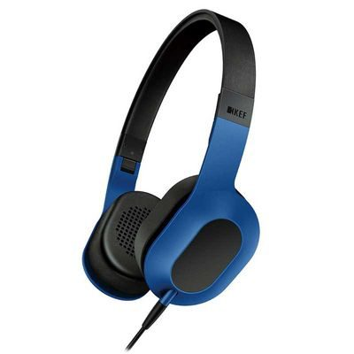 KEF M400 Hi-Fi On-Ear koptelefoon Blauw