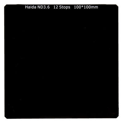 Haida ND3.6 Optical Glass Filter 100x100mm