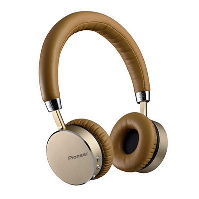 Pioneer SE-MJ561 Bluetooth On-Ear koptelefoon Bruin
