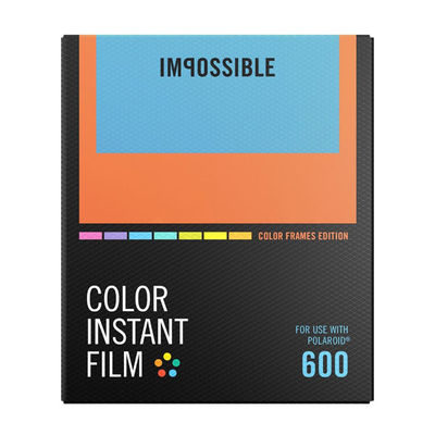 Impossible Color Film with Colorframe for 600