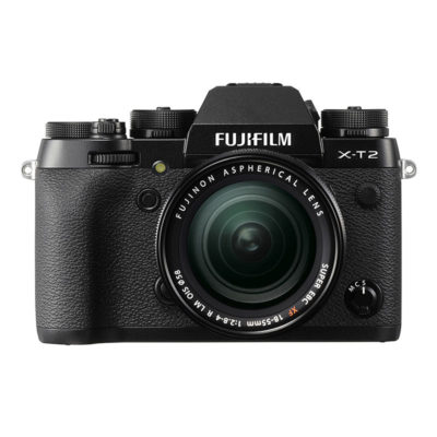 Fujifilm X-T2 systeemcamera Zwart + 18-55mm OIS