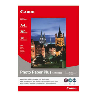 Canon Foto Papier SG-201 Semi-Gloss (Satin) 20 sheets A4
