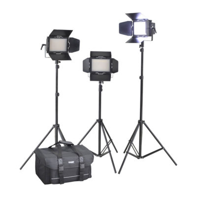Cineroid LM400-3setV Led Light Kit