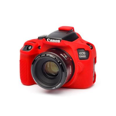 EasyCover Cameracase Canon EOS 1300D Rood