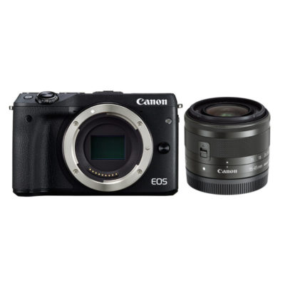 Canon EOS M3 systeemcamera + 15-45mm IS STM