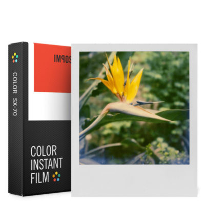 Impossible Color Film with White Frame for SX70