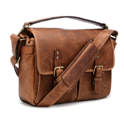 ONA The Prince Street Leather Antique Cognac Messenger Bag