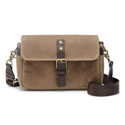 ONA The Bowery Field Tan Messenger Bag