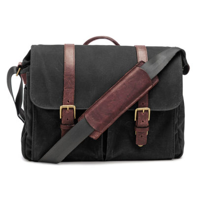 ONA The Brixton Black Messenger Bag
