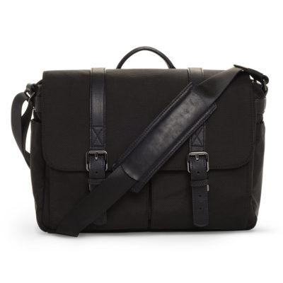 ONA The Brixton Black Nylon Messenger Bag