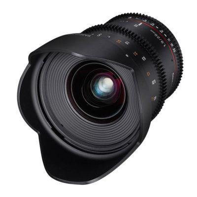 Samyang 20mm T1.9 ED AS UMC VDSLR Sony E objectief