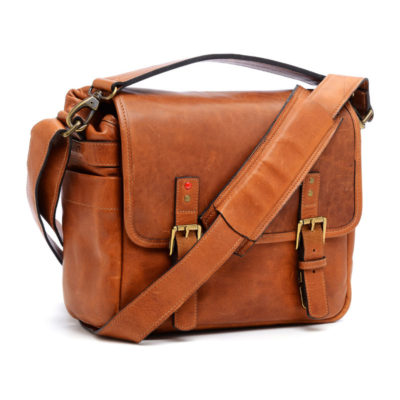 ONA The Berlin II Vintage Bourbon Messenger Bag