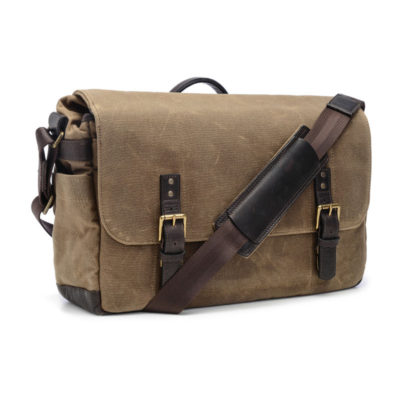 ONA The Union Street Ranger Tan Messenger Bag