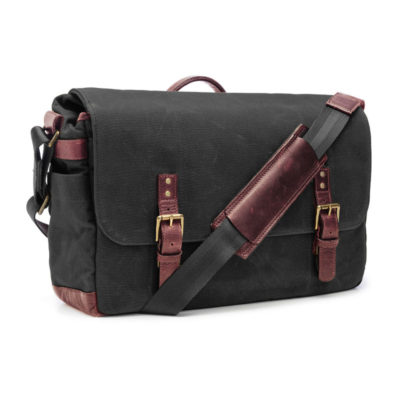 ONA The Union Street Black Messenger Bag