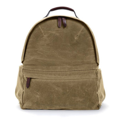 ONA The Bolton Street Field Tan Backpack